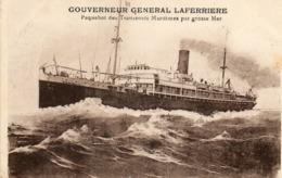 GOUVERNEUR GENERAL LAFERRIERE - Paquebots