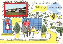 72-SAINT GEORGES DE LA COUEE-N°C-3339-B/0191 - France
