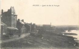 CPA 49 Maine Et Loire Angers Quais Du Roi De Pologne - Angers