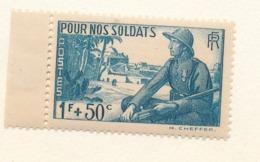 N°452  NEUF** AVEC B.D.F. - France