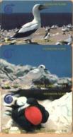 Ascension - GPT, 2CASA/B/C, Set Of 3 Cards, White/Fairy/Frigate Bird, 5/10/15£, 1991, Used - Islas Ascensión