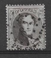 OBP14Bb Met Puntstempel L8 Annevoie - 1863-1864 Medallones (13/16)