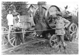 Machine à Vapeur Pour Batteuse ? - Tracteurs