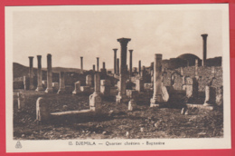 CPA-DJEMILA - Quartier Chrétien - Baptistére- Phototypie Albert * SUP ** 2 SCANS - Algérie