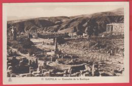 CPA-DJEMILA - Ensemble De La Basilique- Phototypie Albert * SUP ** 2 SCANS - Algeria