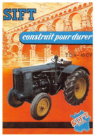 Tracteur SIFT Pont Du Gard Boulogne Billancourt Argenteuil - Trattori