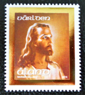 PAQUES - LA TETE DU CHRIST 2010 - NEUF ** - YT 322 - MI 322 - GAUFRE OR - Aland