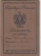 Rare Ancien Passeport Français Timbres Et Cachets Pologne Allemagne 1936-1938 - Zonder Classificatie