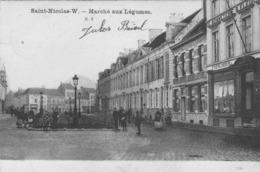 Saint- Nicolas-W  Marché Aux Légumes. - Sint-Niklaas
