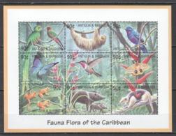 D395 ANTIGUA & BARBUDA ANIMALS & FAUNA FLORA OF THE CARIBBEAN 1SH MNH - Briefmarken