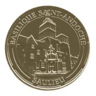 Monnaie De Paris , 2014 , Saulieu , Basilique Saint Andoche - Monnaie De Paris