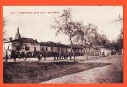Nw009 Peu Commun LOMBERS Près ALBI 81-Tarn La Place Animation Villageoise 1910s P.C.A Phototypie POUX - France