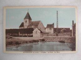 AUVERNAUX - L'église - Le Pont - La Mare - France