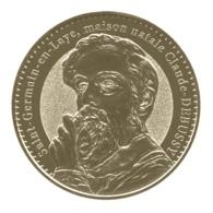 Monnaie De Paris , 2014 , Houilles , Saint Germain En Laye , Maison Natale Claude Debussy - Monnaie De Paris