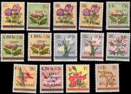 Sud Kasai 0001/13 Fleurs Nuance**  MNH - South-Kasaï