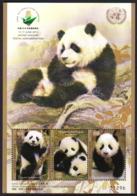 United Nations 2019 China 2019 Stamp Exhibition Fauna Pandas SS MNH - Bears