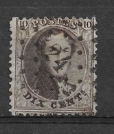 OBP14A Met Puntstempel L24 Aywaille - 1863-1864 Medallones (13/16)