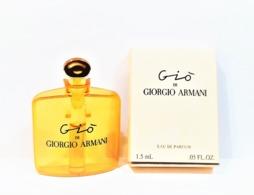 échantillons Parfum Tubes    GIO De GIORGIO ARMANI  EDP 1.5 Ml + COQUE ° BOITE - Echantillons (tubes Sur Carte)