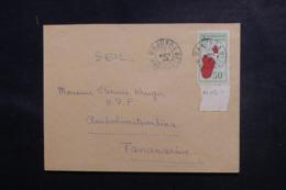 MADAGASCAR - Enveloppe De Majunga Pour Tananarive En 1936, Affranchissement Plaisant - L 47227 - Madagaskar (1889-1960)