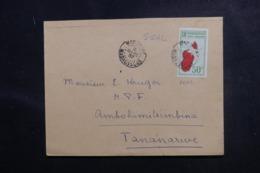 MADAGASCAR - Enveloppe De Marovoay Pour Tananarive En 1937, Affranchissement Plaisant - L 47228 - Madagaskar (1889-1960)