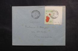 MADAGASCAR - Enveloppe De Moramanga Pour Tananarive En 1937, Affranchissement Plaisant - L 47229 - Madagaskar (1889-1960)