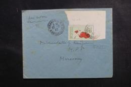 MADAGASCAR - Enveloppe De Tananarive Pour Morovoay En 1937, Affranchissement Plaisant - L 47230 - Madagaskar (1889-1960)
