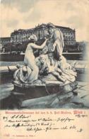AUTRICHE Austria Statue Monumentale Devant Le Musée De VIENNE Monumental Brunnen Bei Den K.k.Hofmuseen  Wien I 1902 - Sonstige