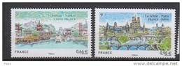 2014-N°4847/4848**FRANCE CHINE - Nuevos