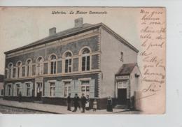 CBPNCPB17/ Belgique-België CP Waterloo La Maison Communale Animée (Ecole Des Filles) 1906 - Waterloo