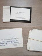 Important Lot De Cartes De Visites Et Lettres Anciennes Pour Le Décès De Henri SEVESTRE (1881-1966) - Décès