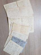 Lot De Lettres Anciennes Du XIXe Siècle - Zonder Classificatie