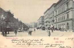AUTRICHE Austria Gruss Aus WIEN Bellaria-Strasse 1899 - Sonstige