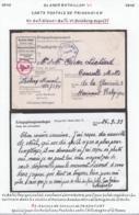 Belgique Stalag Glasser Bataillon VI - CP De Prisonnier (VG) DC4736 - Weltkrieg 1939-45