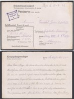 Belgique Stalag VIII D - Petit Cachet De Censure (VG) DC4744 - Guerre 40-45