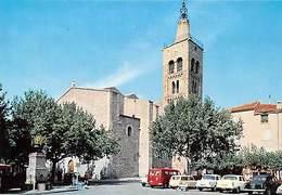 France En Parcourant Le Roussillon Prades L'Eglise Saint Pierre Church Cars - France