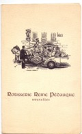 Menu - Rotisserie Reine Pédauque - Bruxelles - Réveillon De Noel Au Champagne - Menus