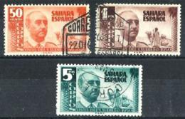 Sahara Español Nº 88/90 En Usado - Sahara Español