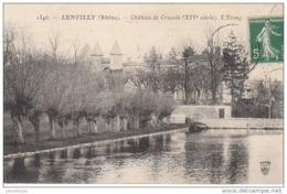 69 - LENTILLY / CHATEAU DE CRUZOLS - L'ETANG - Andere Gemeenten