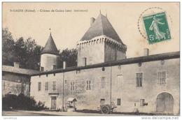 69 - SAINT LAGER / CHATEAU DE CUZIEU - COUR INTERIEURE - France