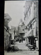 CARTE POSTALE _ CPA Vintage : MANCHE _ Le MONT SAINT MICHEL _ La Grande Rue         // CPA.L.CNT.287.02 - Le Mont Saint Michel