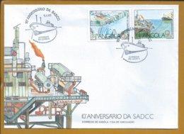 Cabinda Gulf Oil Company. Tanker. Oil Wells Of Angola. Tanker. Ölquellen Von Angola. Petroleiro. Poços De Petroleo. - Erdöl