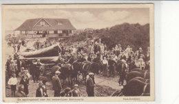De Reddingsboot Voor Het Badpaviljoen Steinvoorte (Ameland) 1940 Zensur - Ameland