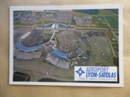 AEROPORT / AIRPORT / FLUGHAFEN   LYON-SATOLAS - Vliegvelden
