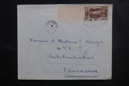 MADAGASCAR - Enveloppe De Marovoay,pour Tananarive En 1937, Affranchissement Plaisant - L 47246 - Madagaskar (1889-1960)