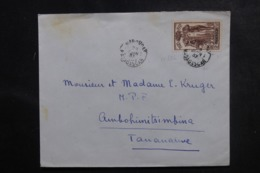 MADAGASCAR - Enveloppe De Marovoay Pour Tananarive En 1937, Affranchissement Plaisant - L 47247 - Madagaskar (1889-1960)