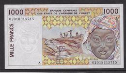 Côte D'Ivoire - 1000 Francs - 1991/2003 Pick N°111Ak - Neuf - Côte D'Ivoire