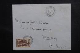 MADAGASCAR - Enveloppe De Tananarive Pour Marovoay En 1937, Affranchissement Plaisant - L 47248 - Madagaskar (1889-1960)