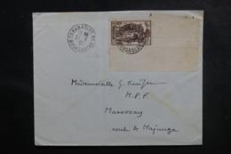 MADAGASCAR - Enveloppe De Tananarive Pour Marovoay En 1937, Affranchissement Plaisant - L 47249 - Madagaskar (1889-1960)