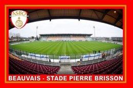 CARTE DE STADE . BEAUVAIS   FRANCE   STADE PIERRE BRISSON # CS. 349 - Voetbal
