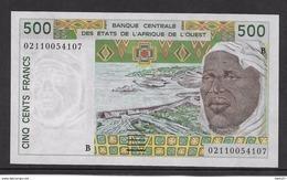 Bénin - 500 Francs 2002 - Pick N°210Ba - Neuf - Benin